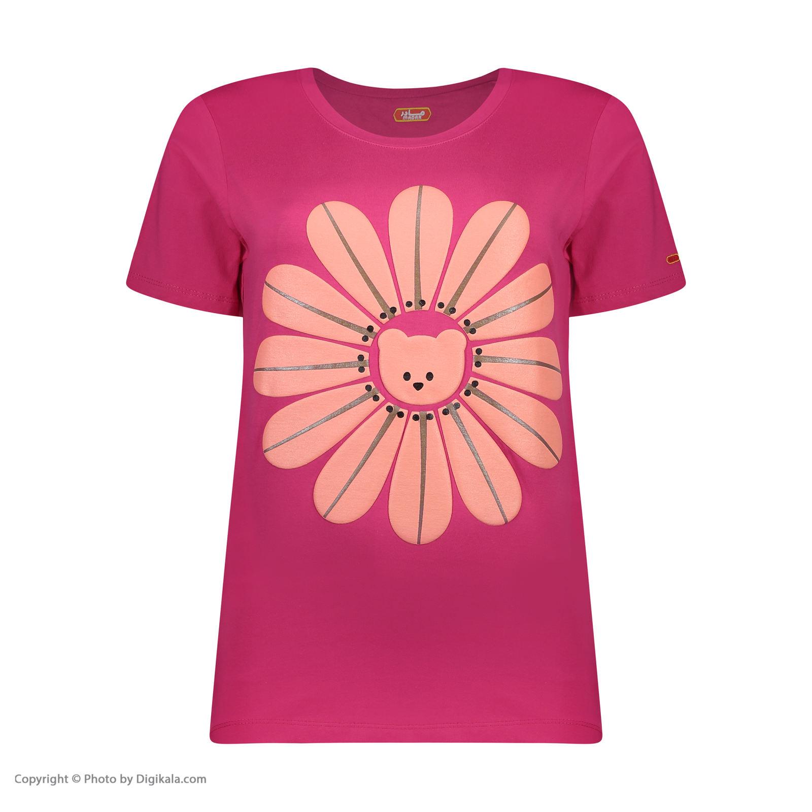 ست تی شرت و شلوارک راحتی زنانه مادر مدل 2041101-66 -  - 4