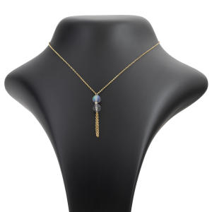 گردنبند طلا 18 عیار زنانه مدل SR12