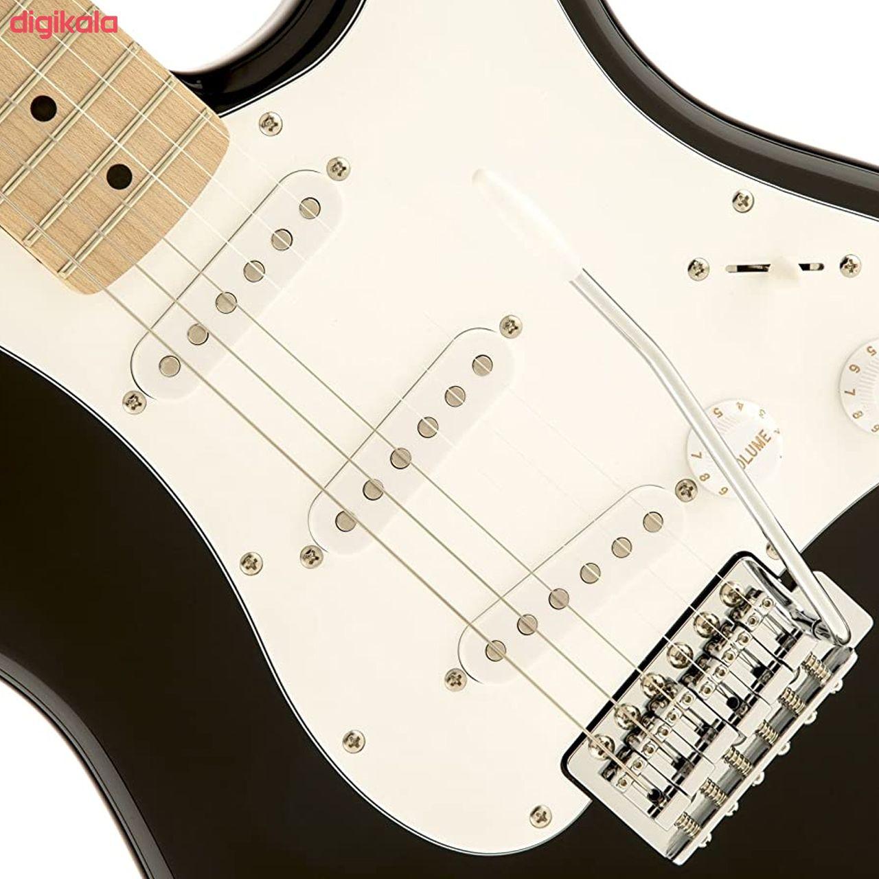گیتار الکتریک فندر مدل SQ Strat MN Black main 1 2