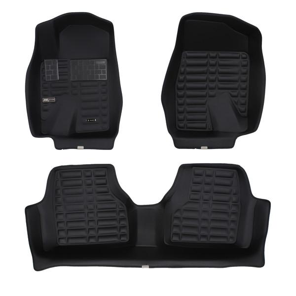 کفپوش سه بعدی خودرو تری دی مکس اچ اف کی مدل HS121251مناسب  برای سمند