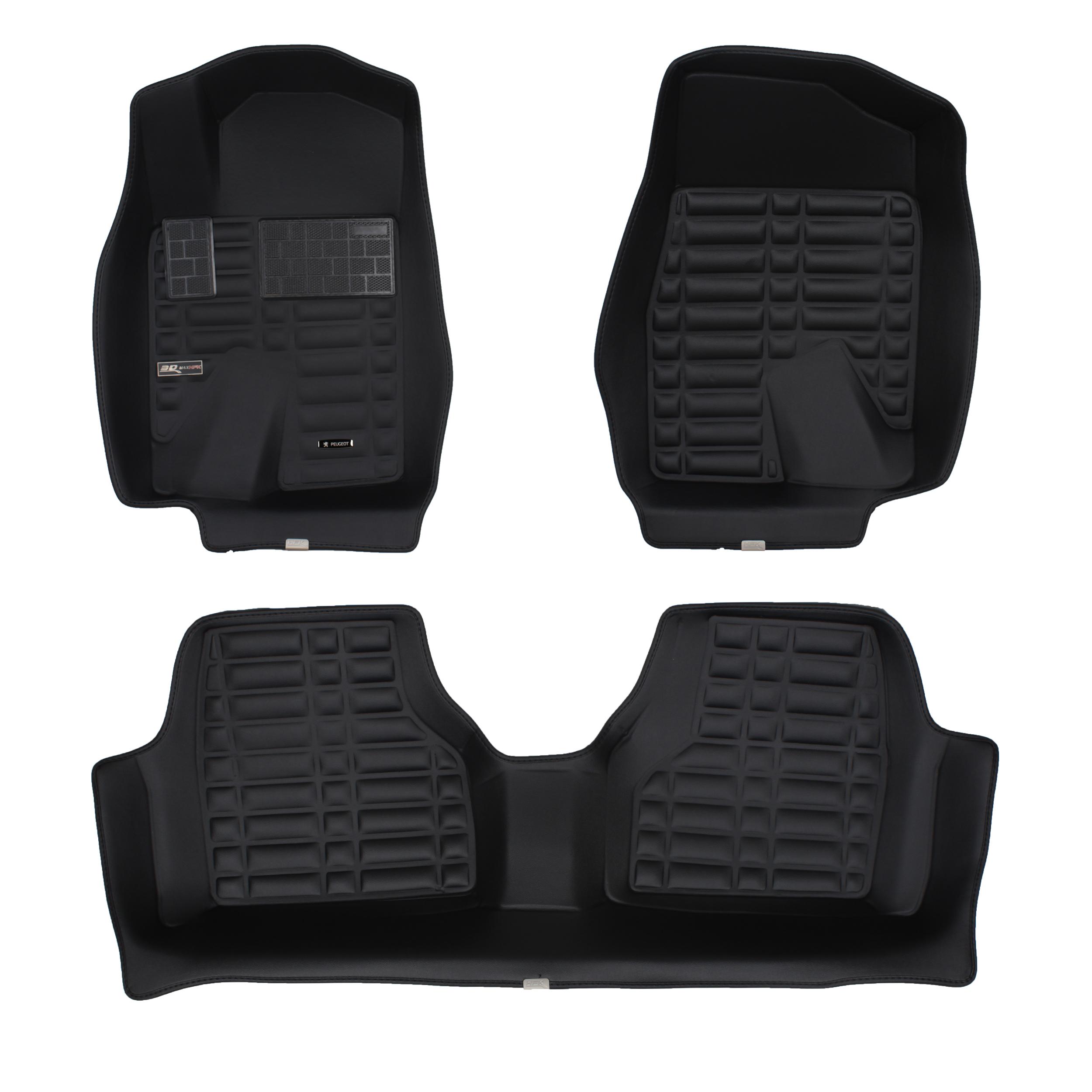 کفپوش سه بعدی خودرو تری دی مکس اچ اف کی مدل HS1356251مناسب  برای پژو پارس