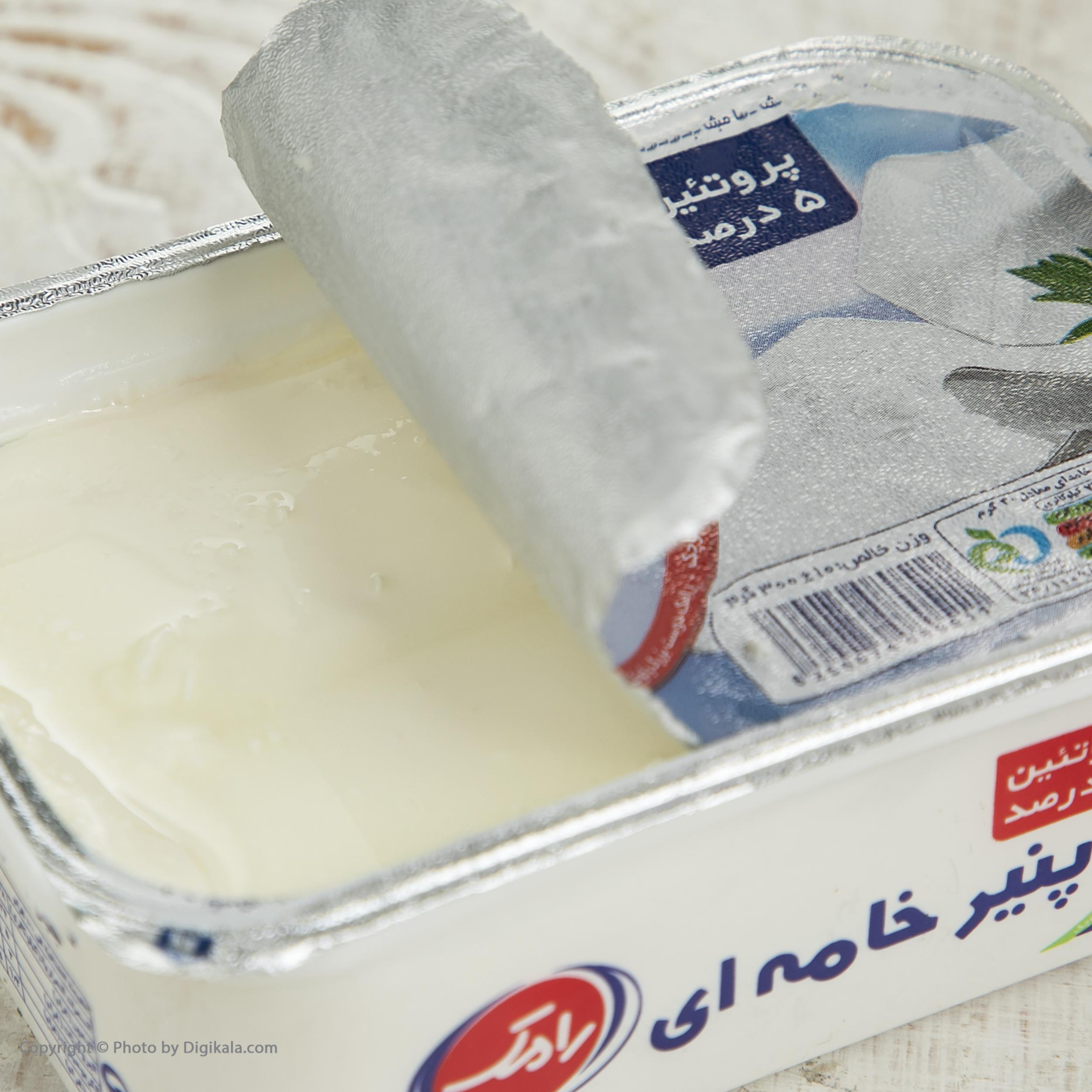 پنیر خامه ای رامک وزن 300 گرم main 1 5