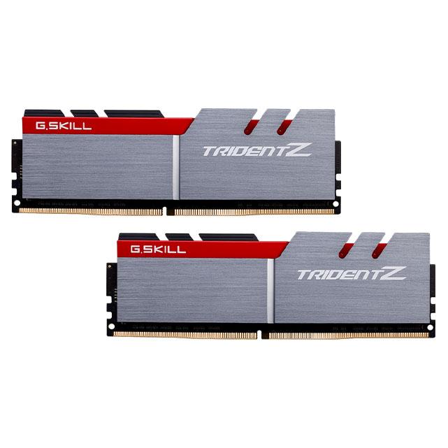 رم دسکتاپ DDR4 دو کاناله 3000 مگاهرتز CL15 جی اسکیل مدل Trident Z ظرفیت 32 گیگابایت