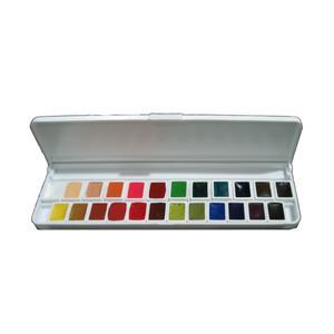 آبرنگ 24 رنگ آقا میری کد 564
