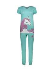 ست تی شرت و شلوار راحتی زنانه مادر مدل 2041104-54 -  - 1