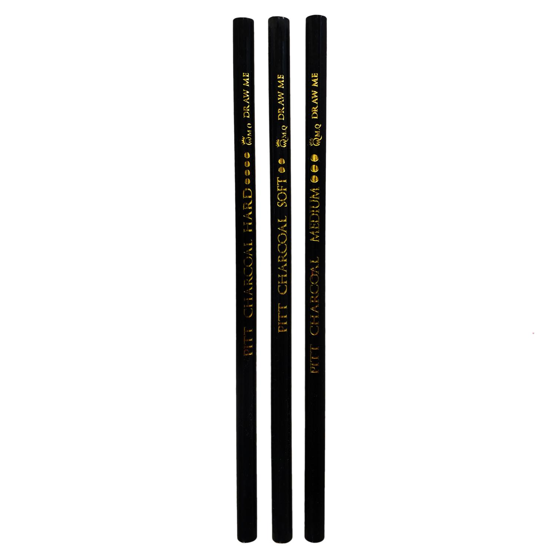 مداد کنته ام کیو مدل ART & Graphic PITT بسته 3 عددی main 1 2