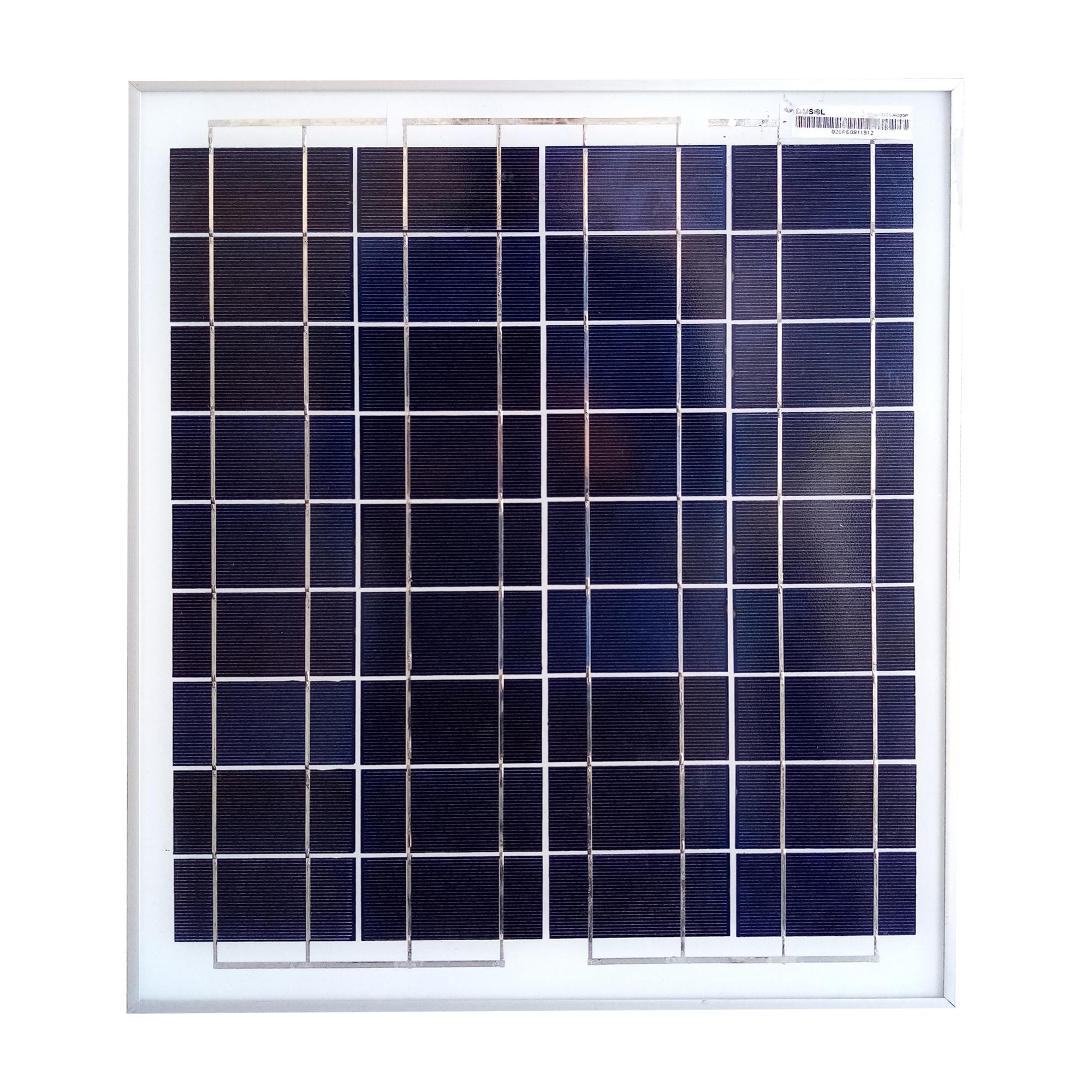 پنل خورشیدی داسول مدل Du-20w ظرفیت 20 وات