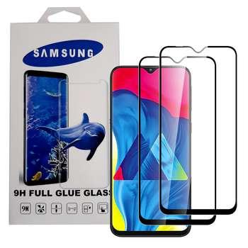 محافظ صفحه نمایش 9D مدل YMS100 مناسب برای گوشی موبایل سامسونگ Galaxy A10 / A10s / M10 بسته 2 عددی