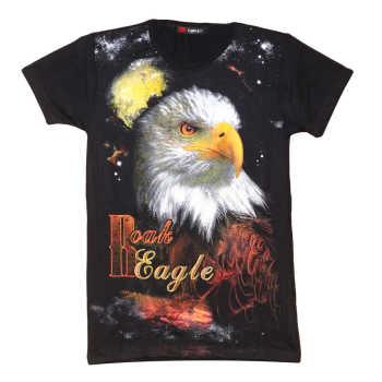 تی شرت پسرانه طرح عقاب کد 42