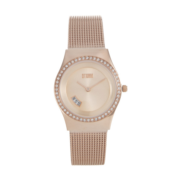 ساعت مچی عقربه ای زنانه استورم مدل ST 47385-RG