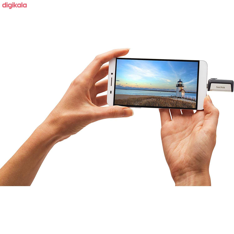 فلش مموری سن دیسک مدل Ultra Dual Drive USB Type-C ظرفیت 32 گیگابایت main 1 7
