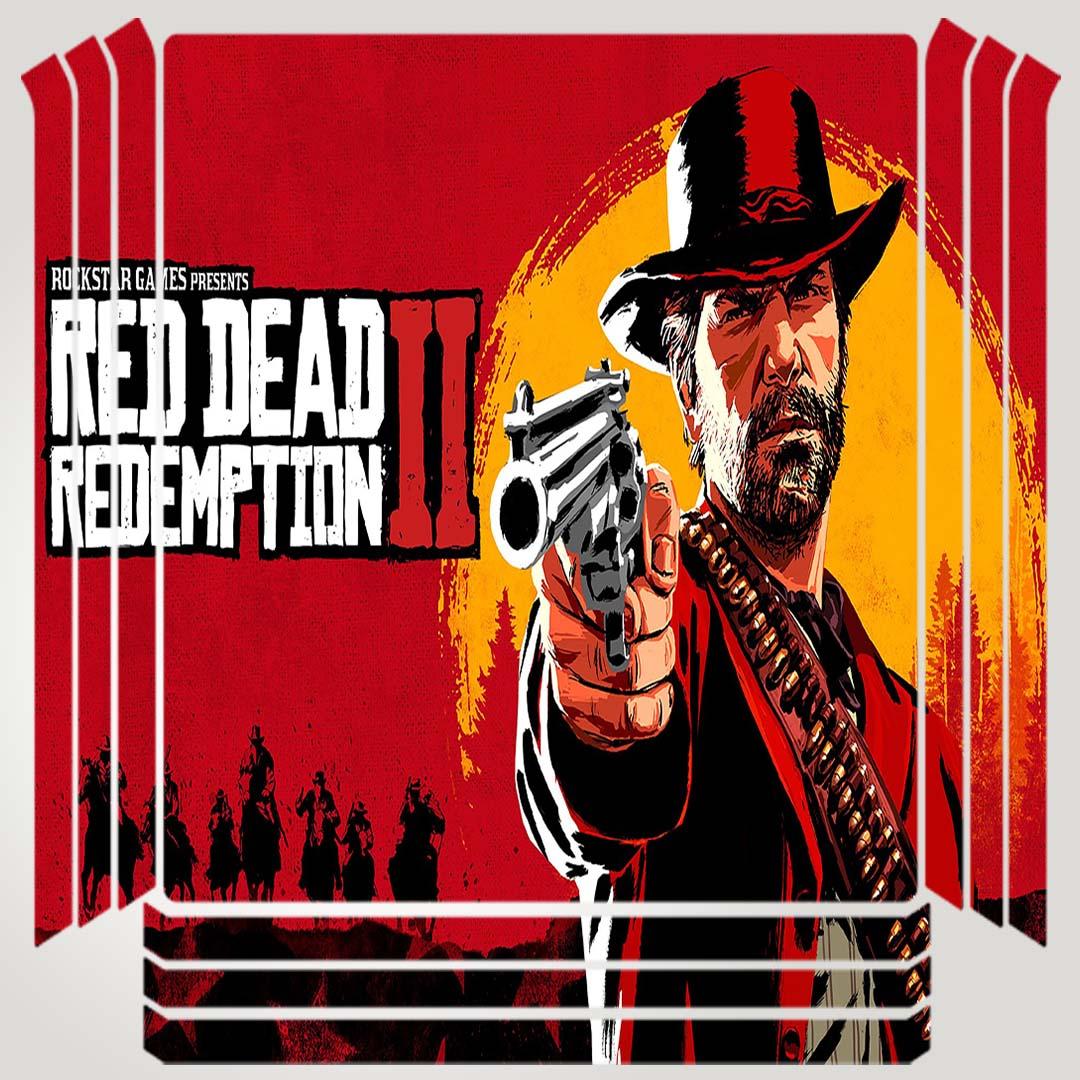 خرید اینترنتی [با تخفیف] برچسب پلی استیشن ۴ مدل red dead کد PSP-335 اورجینال