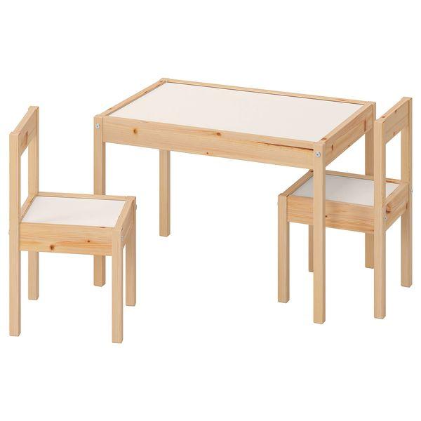 ست میز و صندلی کودک ایکیا مدل LÄTT