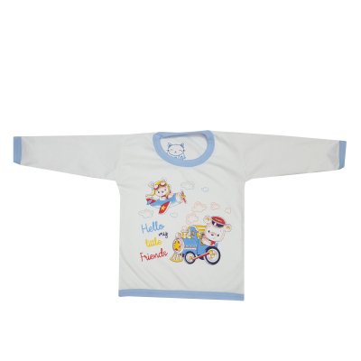 ست تی شرت و شلوار نوزادی بانی نی مدل دوست کوچک من