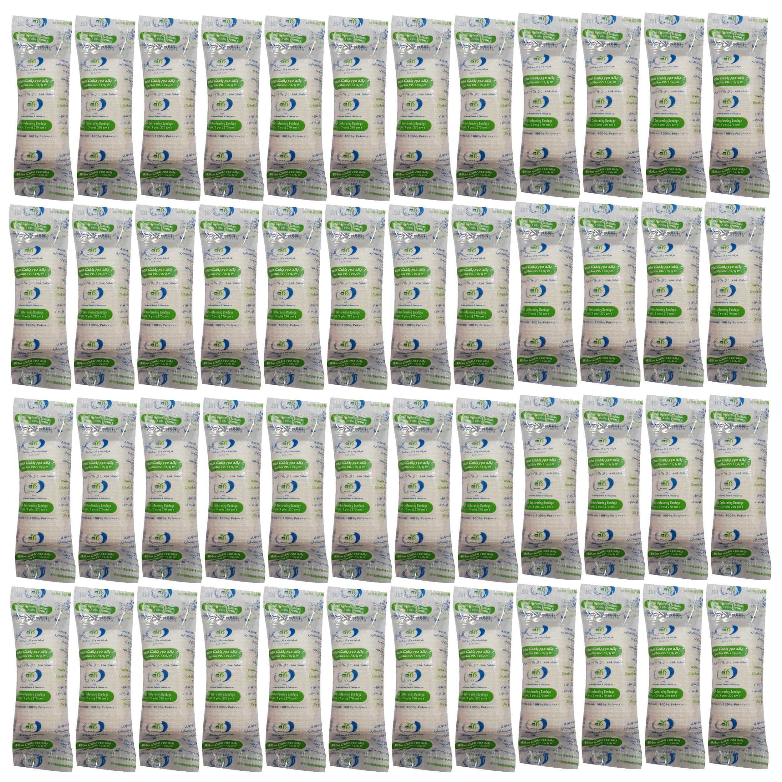 باند پانسمان سبز شمال کد C27075 مجموعه 48 عددی
