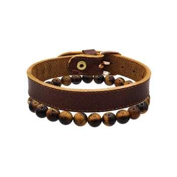 دستبند مردانه رزالیا مدل RBR-MM-L-5 مجموعه 2 عددی