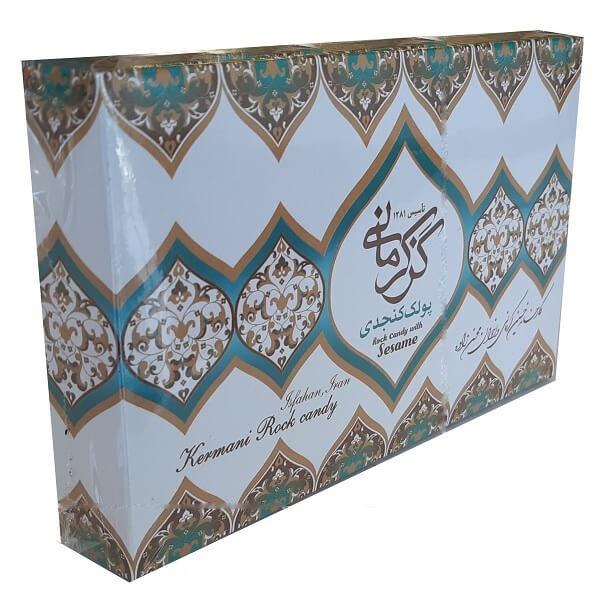 پولکی کنجدی گز کرمانی - 450 گرم