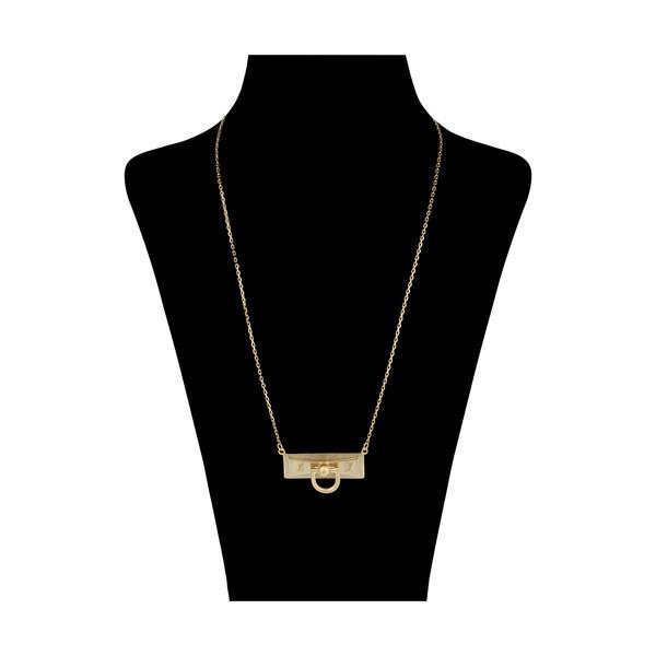گردنبند طلا 18 عیار زنانه مایا ماهک مدل MM1285