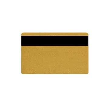 کارت مگنت پی وی سی طلایی کد 022 بسته 250 عددی