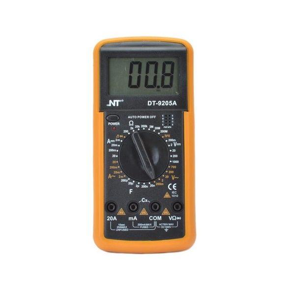 مولتی متر دیجیتال ان تی مدل DT-9205A