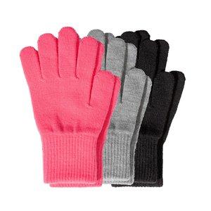 دستکش بافتنی بچگانه اچ اند ام مدل BAE1 مجموعه 3 عددی
