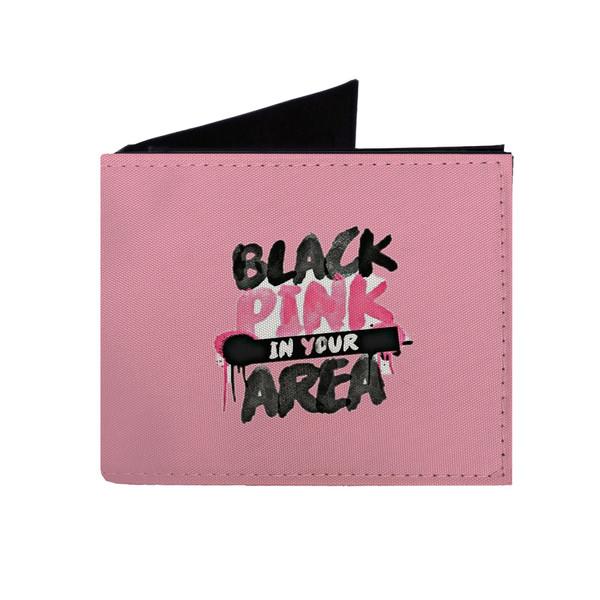کیف پول طرح بلک پینک black pink مدل kp132