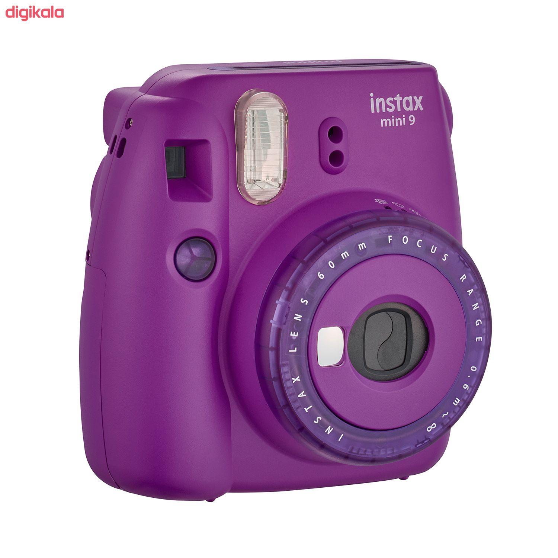 دوربین عکاسی چاپ سریع فوجی فیلم مدل Instax Mini 9 Clear main 1 15