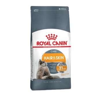 غذای خشک گربه رویال کنین مدل Hair & Skin وزن 10 کیلوگرم