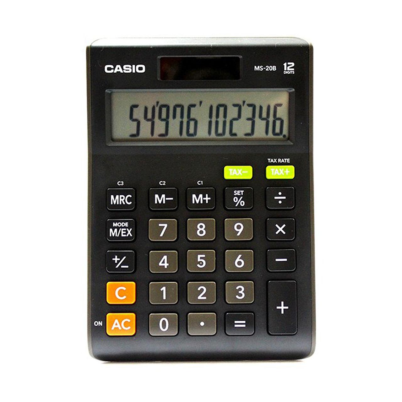 قیمت                      ماشین حساب کاسیو  مدل MS-20B