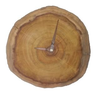 ساعت دیواری چوبی مدل HS1