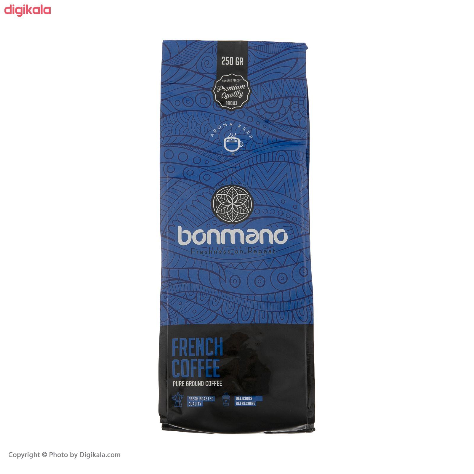 قهوه فرانسه بن مانو -250 گرم main 1 4