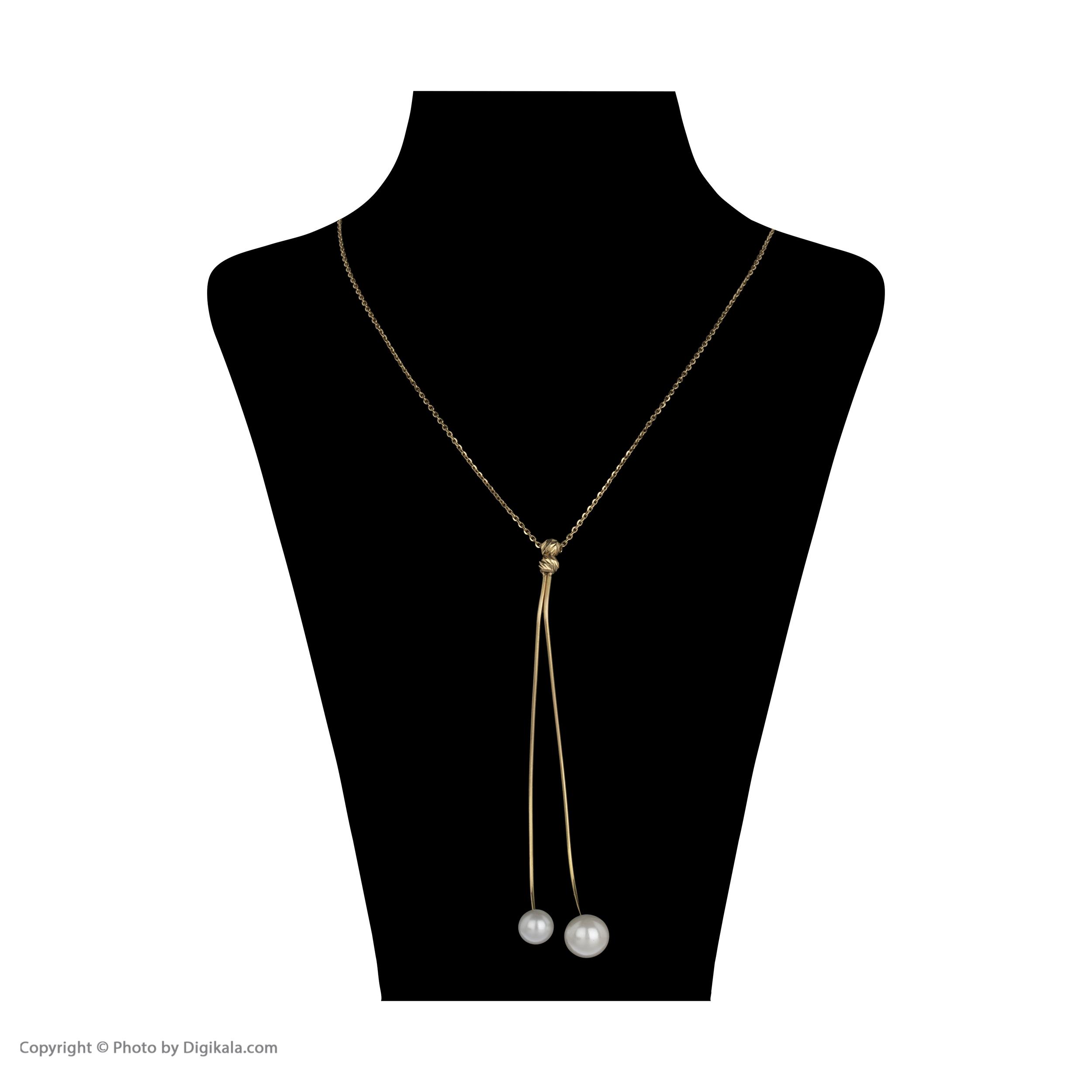 گردنبند طلا 18 عیار زنانه سیودو مدل 145582 -  - 3