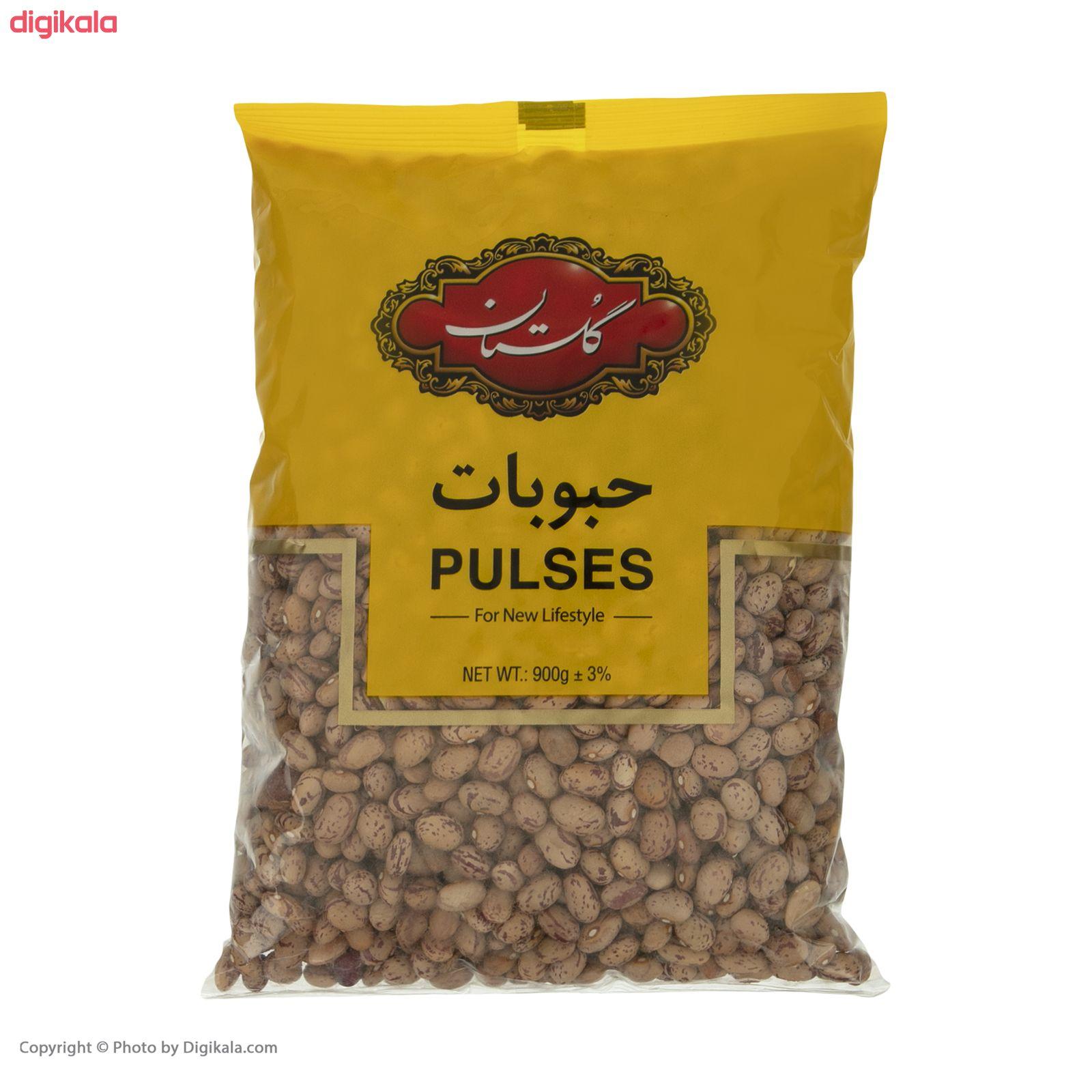 لوبیا چیتی گلستان - 900 گرم  main 1 1