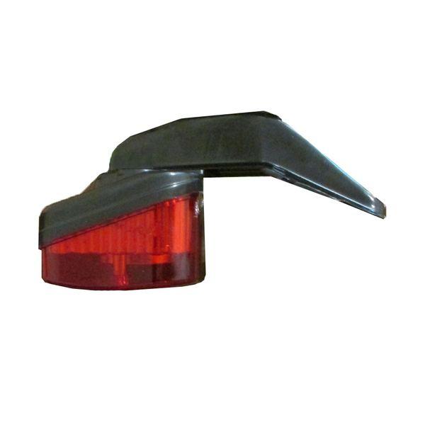 چراغ خطر عقب موتور سیکلت مدل LED کد D-A01A05A001 مناسب برای پرواز 200 سی سی