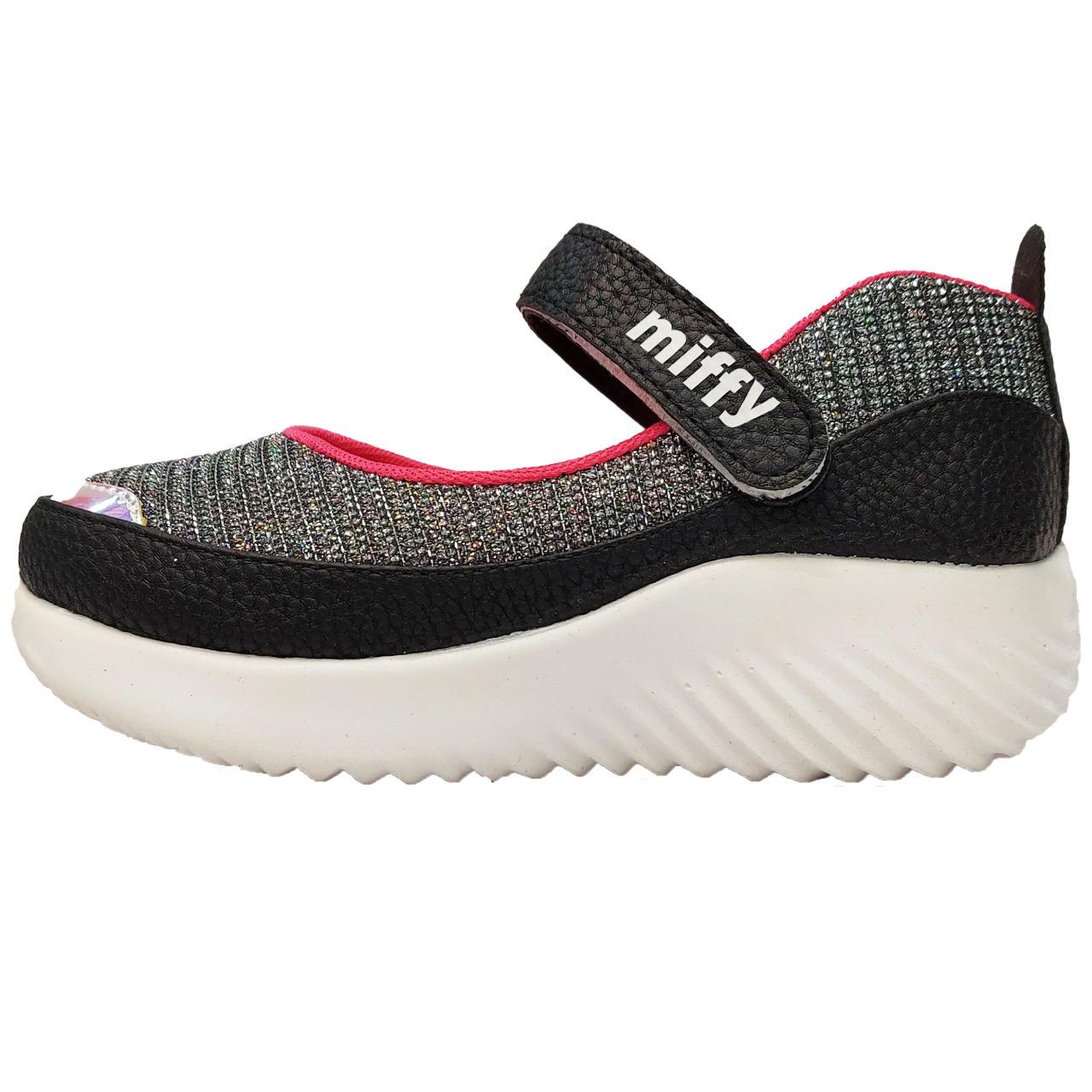 کفش پیاده روی دخترانه مدل Si-0029-BK                     غیر اصل