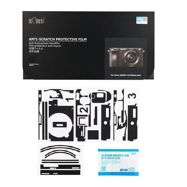 برچسب پوششی کیوی مدل KS-A6500MK مناسب برای دوربین عکاسی سونی A6500