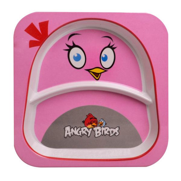 بشقاب کودک مهروز طرح ANGRY BIRDS 4  کد 50800