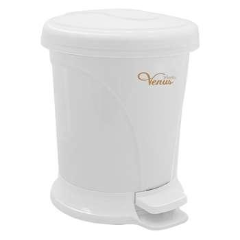 سطل زباله پدالی ونوس پلاستیک مدل 420