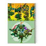 دفتر نقاشی 40 برگ طرح  لاک پشت های نینجا کد tz1