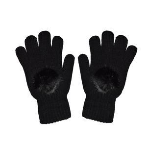دستکش بافتنی زنانه تولیدی منوچهری کد da467