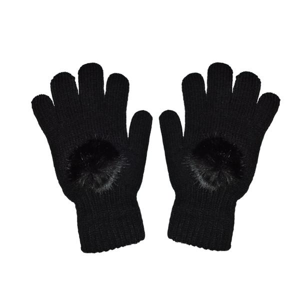 دستکش بافتنی دخترانه کد df 57