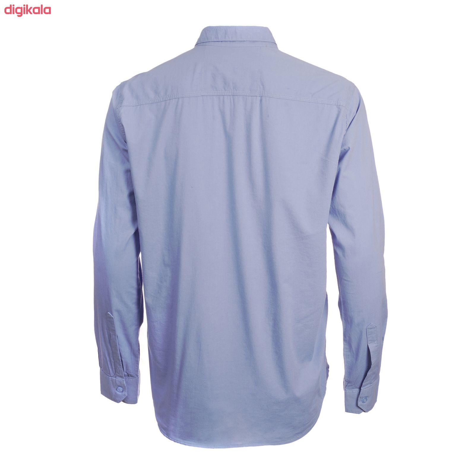 پیراهن آستین بلند مردانه ناوالس مدل PN-L main 1 1