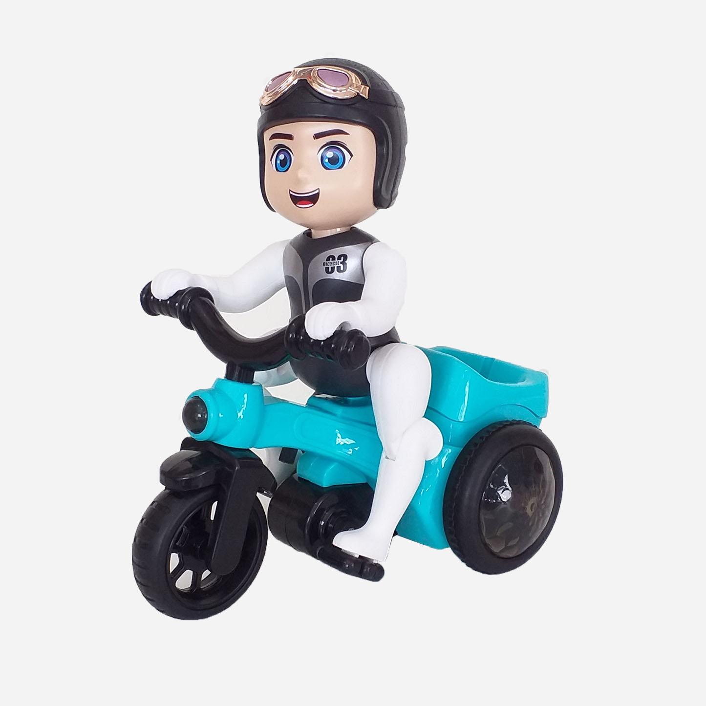 اسباب بازی زینتی مدل دوچرخه سوار