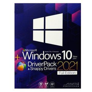 سیستم عامل ویندوز 10 New 21H1+Driverpack&Snappy Drivers2021 Full Edition نشر بیتا