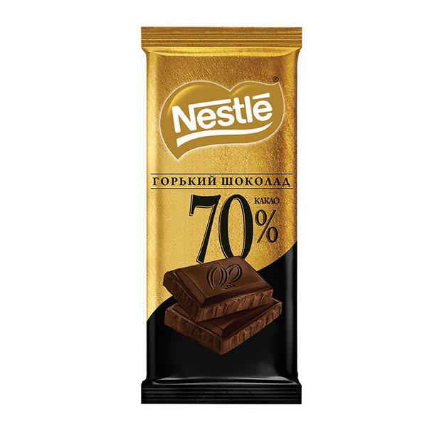 شکلات تلخ تخته ای %70 دکوریشن نستله - 90 گرم