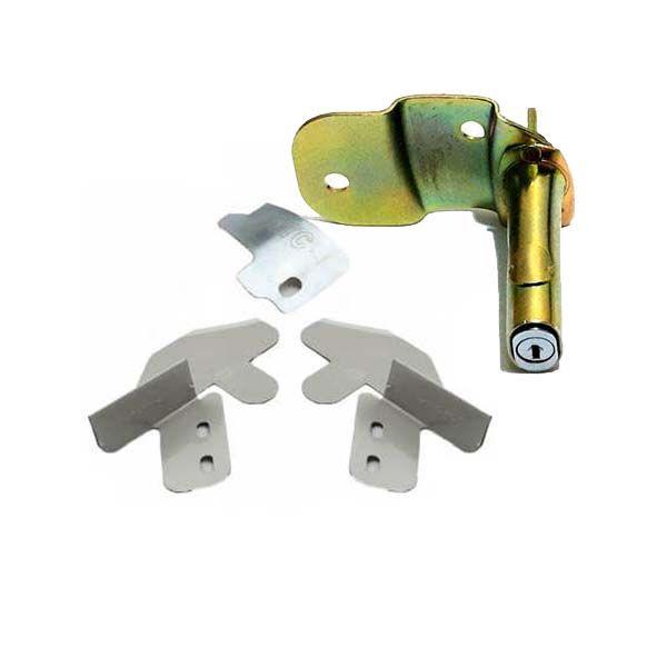 قفل در و کاپوت خودرو ام تی سی کد 104070 مناسب برای تیبا بسته 4 عددی