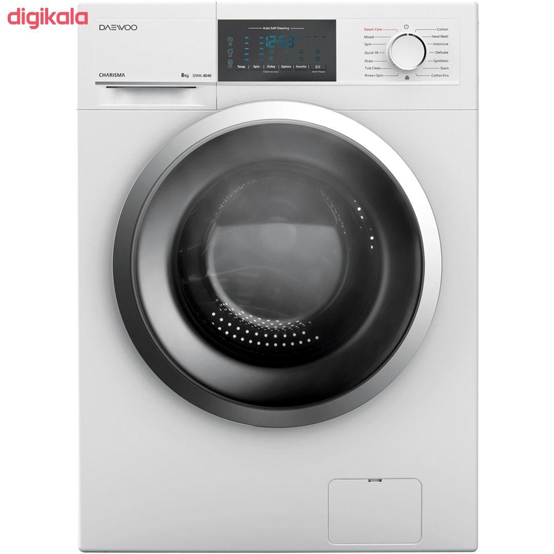 ماشین لباسشویی دوو مدل DWK-8140 ظرفیت 8 کیلوگرم main 1 1