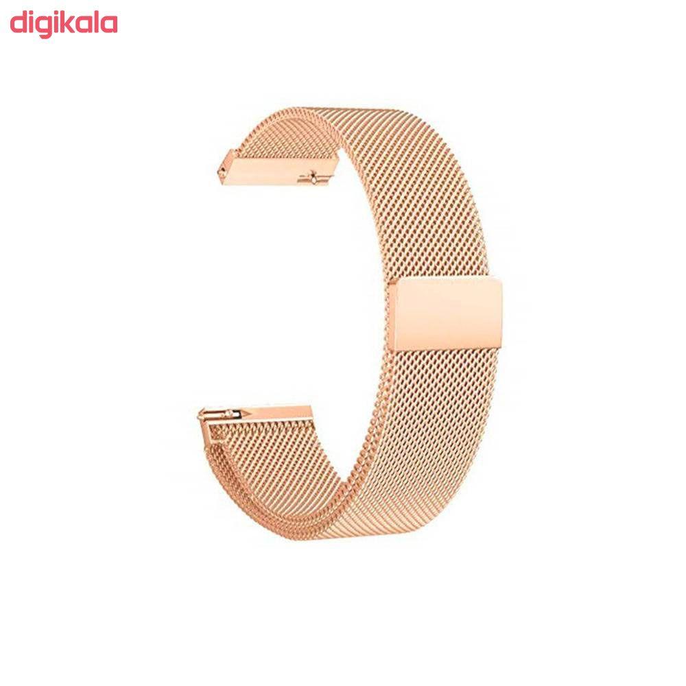 بند مدل Milanese مناسب برای ساعت هوشمند سامسونگ Galaxy Watch Active / Active 2 40mm / Active 2 44mm main 1 10