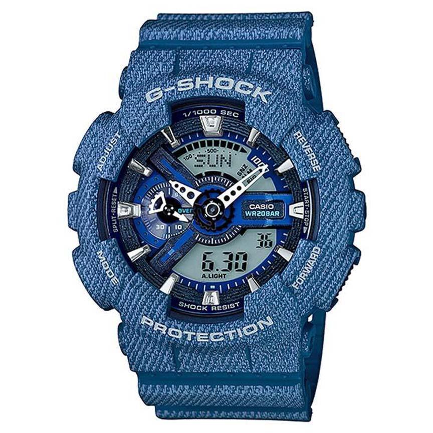 ساعت مچی عقربه ای مردانه کاسیو مدل جی شاک کد GA-110DC-2A              👙