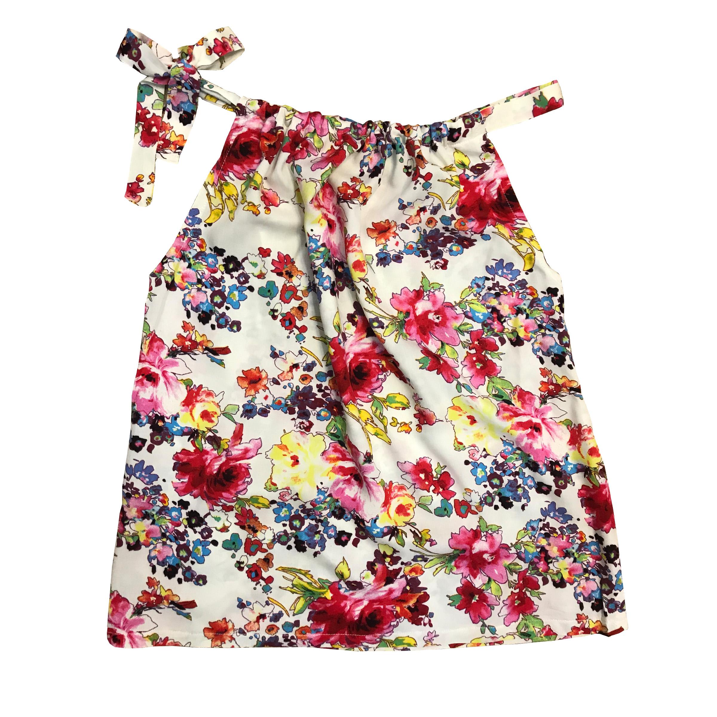 خرید                                      ست تاپ و دامن زنانه مدل flower